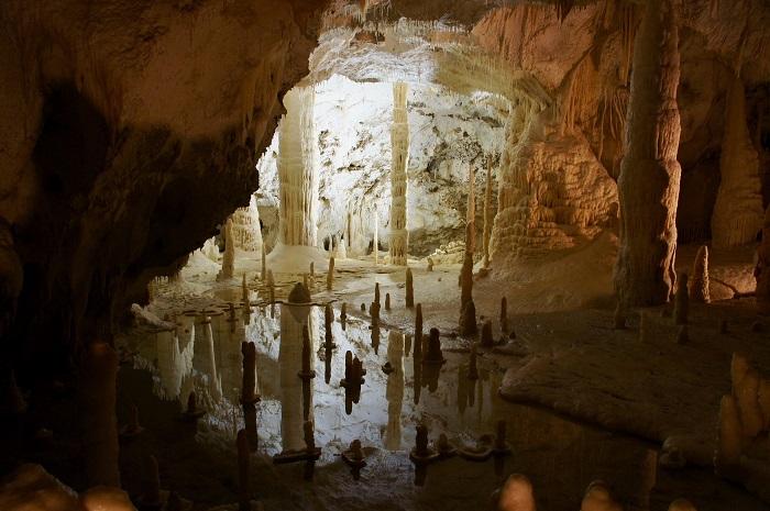 Slovenske jaskyne cez zimu